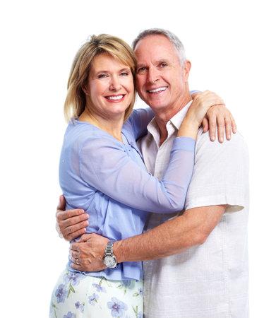 Happy elderly couple. Stock Photo - 10857293