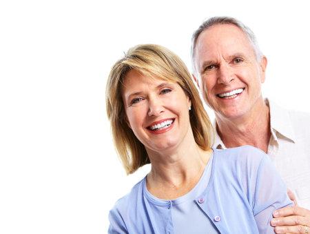 Happy elderly couple. Stock Photo - 10857161