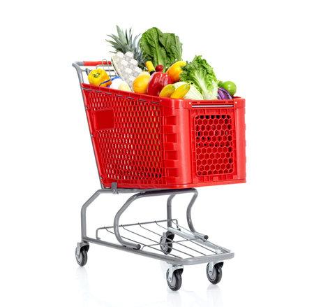 Shopping cart. Stock Photo - 10857282