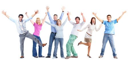 Gente feliz. Foto de archivo - 10930306
