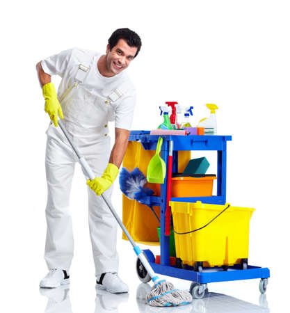 Cleaner. Stock Photo - 10930259
