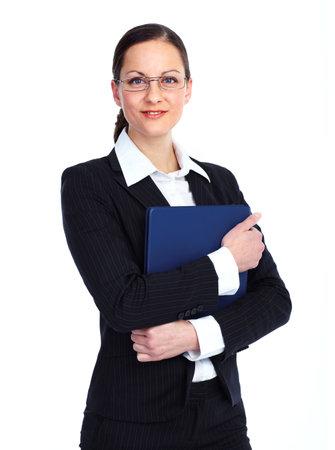 company executive: Business woman.