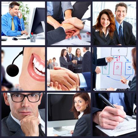 회사: 비즈니스 사람들이 그룹. 스톡 사진