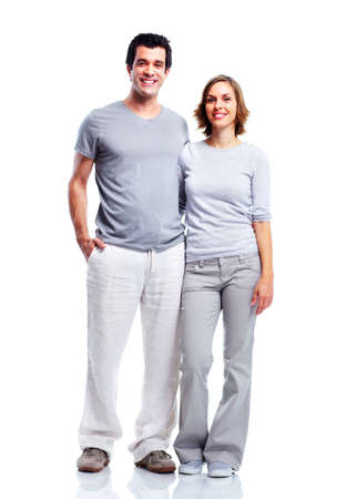 adult couple: Happy couple.