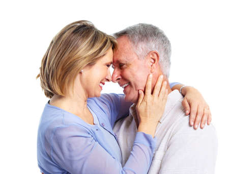 Happy elderly couple. Stock Photo - 11071151