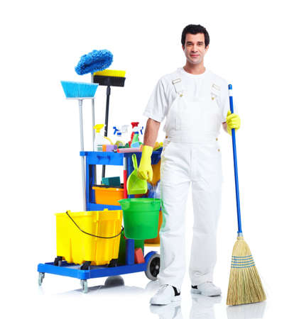 Cleaner man.