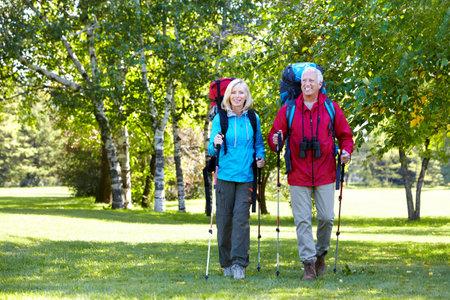 Hiking people.