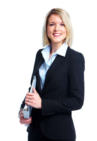 female lawyer: Financial adviser business lady.
