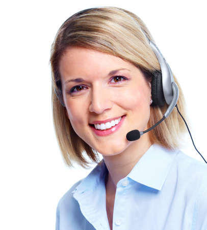 customer service representative: Call customer center operator.