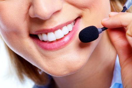 personal service: Call customer center operator.