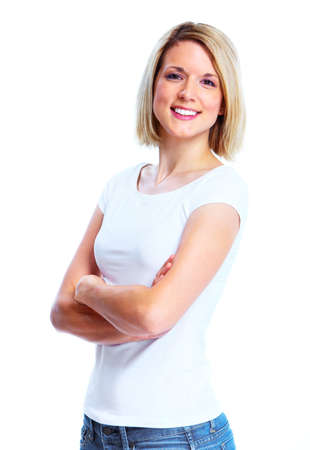 Happy woman. Stock Photo - 11070886