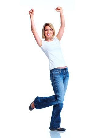 Mujer feliz. Foto de archivo - 11069445