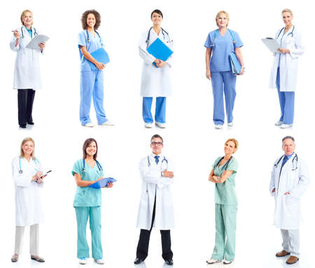 Group of medical doctors. photo
