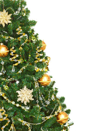 decoration: Christmas tree. Stock Photo