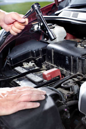 Auto mechanic Stock Photo - 11081496