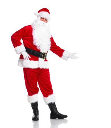 clause: Santa Claus. Stock Photo