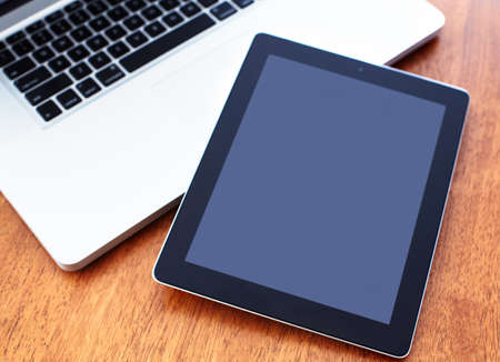 Tablet computer. Stok Fotoğraf