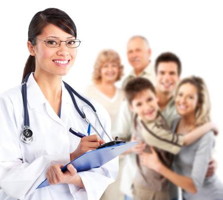 gezondheid: Huisarts vrouw.