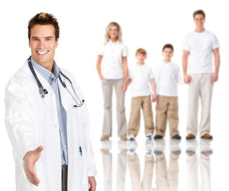 Family doctor man.