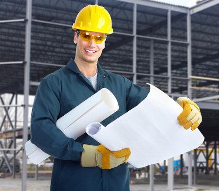 industrial mechanics: Trabajador industrial. Foto de archivo
