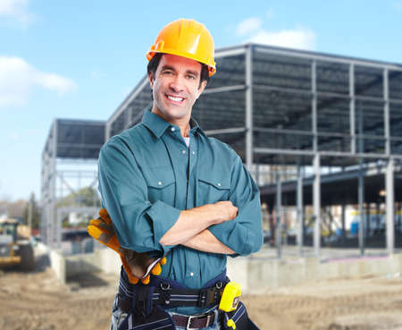 Industrial worker. Stock Photo - 11102290