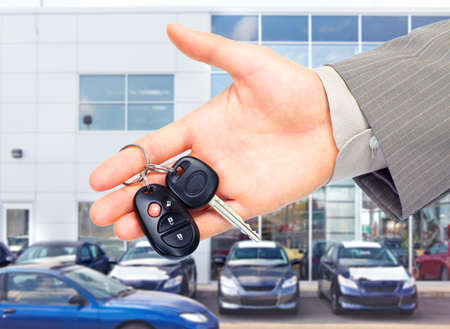 Car key. Stock Photo - 11102289