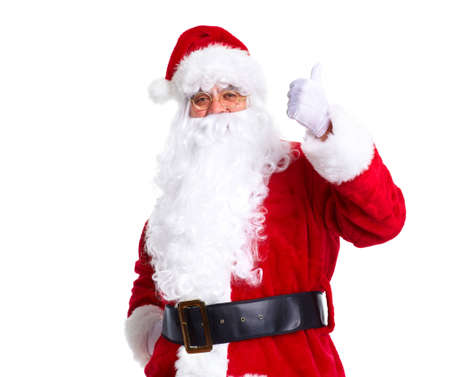 st nick: Christmas Santa Claus. Stock Photo