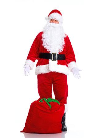 clause: Christmas Santa Claus. Stock Photo