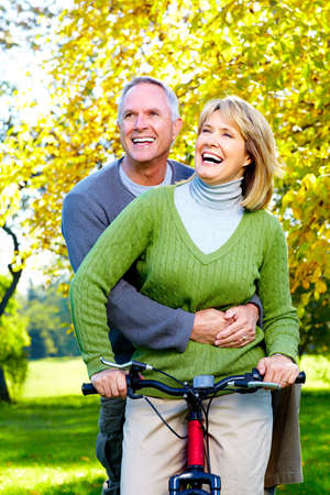 retirement  age: Senior couple.