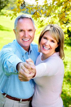 Elderly couple. photo