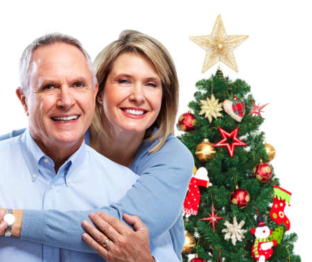 Christmas couple. photo