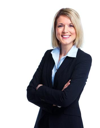 Mujer de negocios. Foto de archivo