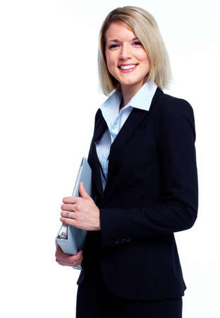 Financial adviser business woman. photo