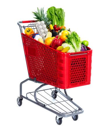 cart: Shopping cart.