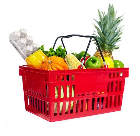 basket: Shopping basket.