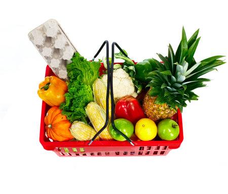 Shopping basket. photo