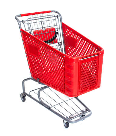 grocery cart: Shopping cart.