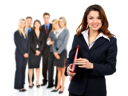 Business woman and group of people. Stock Photo - 11182665