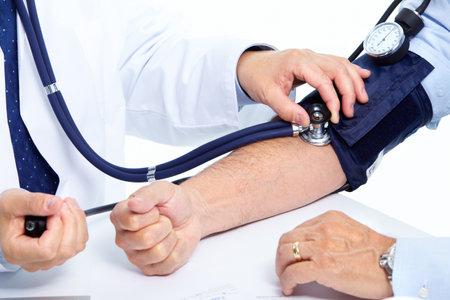 hipertension: Medición de la presión arterial.