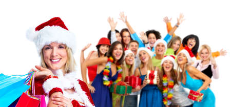 Group of happy people. Stock Photo - 11292593
