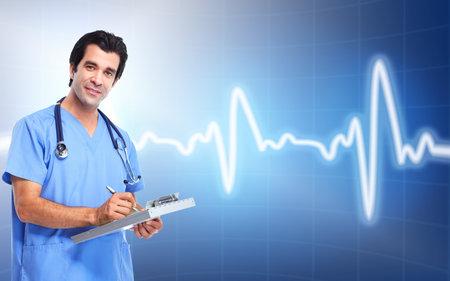 cardiologist: Medical doctor cardiologist. Health care.