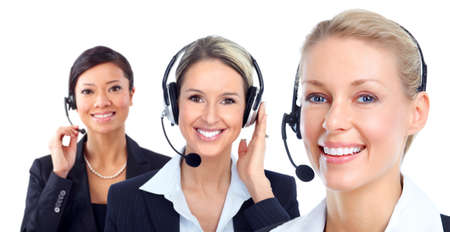 call center agent: Call customer center operator.