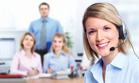 Appelez-opérateur du centre à la clientèle. Banque d'images - 11270347
