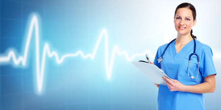 Medical doctor cardiologist. Stock Photo - 11270365