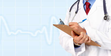 Medical doctor cardiologist. photo