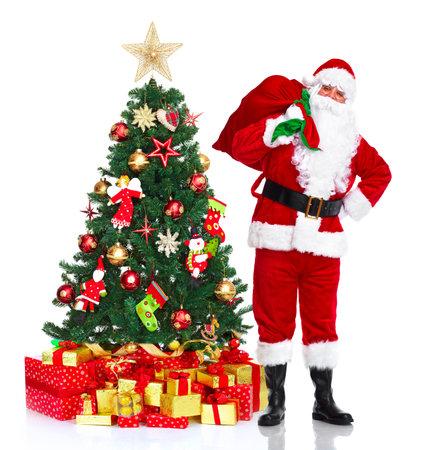 nick: Santa Claus and Christmas Tree.