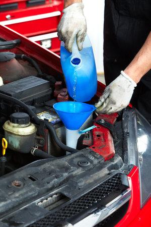auto repair: Auto mechanic. Stock Photo