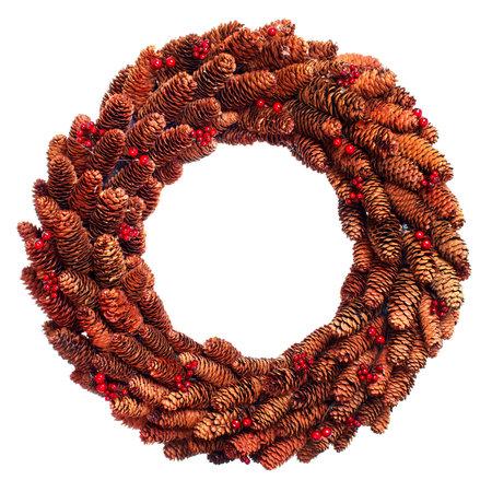 Christmas wreath. Reklamní fotografie