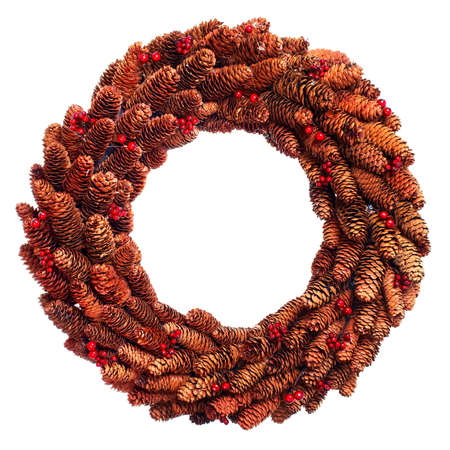 Christmas wreath. photo