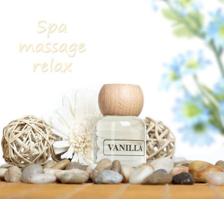 Spa massage concept background. Stock Photo - 11305201